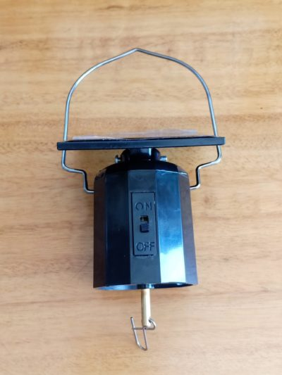 Solar Motor For Wind Spinners